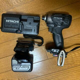 ヒタチ(日立)の日立工機  インパクトドライバー 14.4V 充電器 電池セット(工具/メンテナンス)