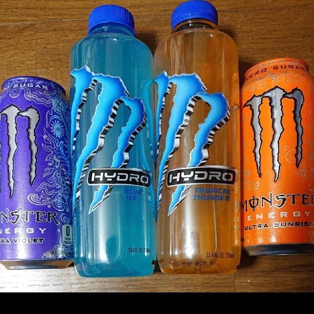 海外 モンスターエナジー ハイドロ 食品/飲料/酒の飲料(ソフトドリンク)の商品写真
