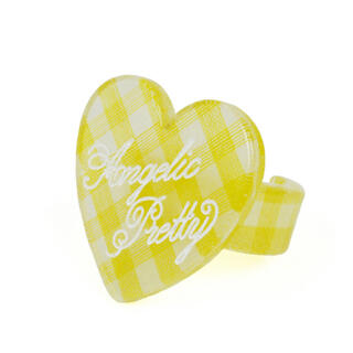 Angelic Pretty - 最終値下げ【新品】lovelyギンガムリング