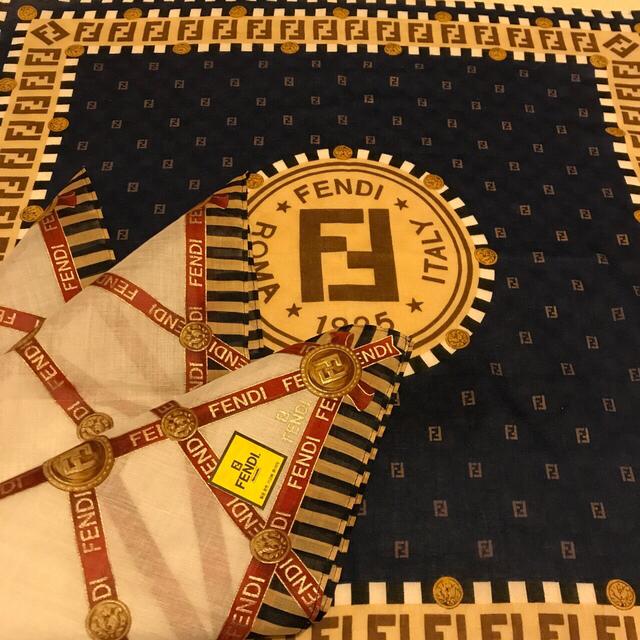 FENDI(フェンディ)のSALE  フェンディ ハンカチスカーフセット  present price❗️ レディースのファッション小物(ハンカチ)の商品写真