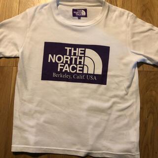 THE NORTH FACE - ノースフェイスパープルレーベル Tシャツ