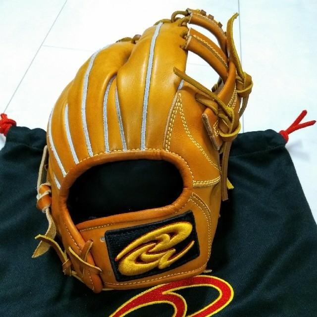 【新品】ドナイヤ Donaiya 軟式 内野手 グローブ グラブ DJNII スポーツ/アウトドアの野球(グローブ)の商品写真