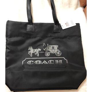 COACH - 限定割引COACH ナイロントートバッグ ブラック
