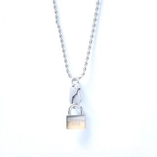 ディーゼル(DIESEL)のディーゼル ネックレス DX1203040 メンズ 南京錠モチーフ (ネックレス)