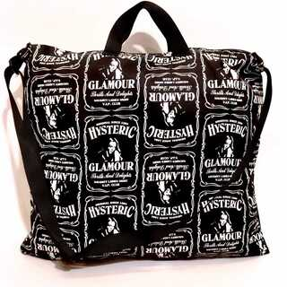 HYSTERIC GLAMOUR - 美品 ヒステリックグラマー V.I.P. CLUB 総柄 2WAY バッグ