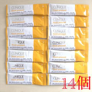 クリニーク(CLINIQUE)の【新品】クリニーク フレッシュプレストCパウダークレンザー 14個(洗顔料)