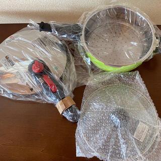 ドウシシャ(ドウシシャ)のドウシシャ(DOSHISHA)製 片手圧力鍋(鍋/フライパン)
