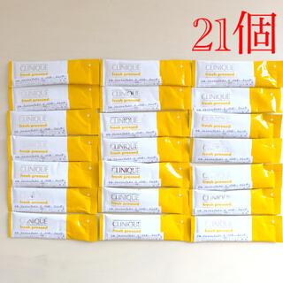 クリニーク(CLINIQUE)の【新品】クリニーク フレッシュプレストCパウダークレンザー 21個(洗顔料)