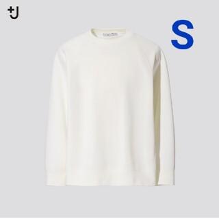 UNIQLO - 【未開封】ユニクロ +J ドライスウェットシャツ オフホワイト Sサイズ