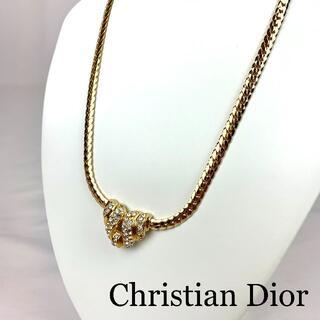 Christian Dior - Christian Dior   VINTAGE ラインストーン ネックレス