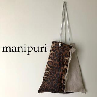 TOMORROWLAND - ★ manipuri ★マニプリ レオパードプリントコンビトートバッグ