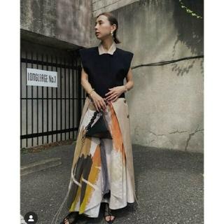 Ameri VINTAGE - 美品アメリヴィンテージ アートスカート  LOUISE ART SKIRT