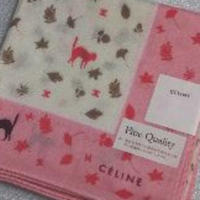 celine(セリーヌ)の値下げ📌セリーヌ☆大判ガーゼハンカチ🍁 レディースのファッション小物(ハンカチ)の商品写真