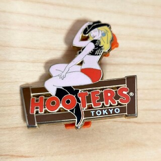 HOOTERS フーターズ ピンバッジ(その他)