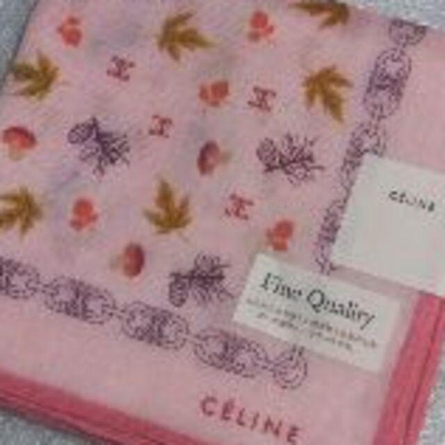 celine(セリーヌ)の値下げ📌セリーヌ☆大判ガーゼハンカチ🍄 レディースのファッション小物(ハンカチ)の商品写真