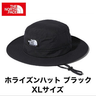ザノースフェイス(THE NORTH FACE)の《新品》ザノースフェイス ホライズンハット ブラック XLサイズ NN41918(ハット)