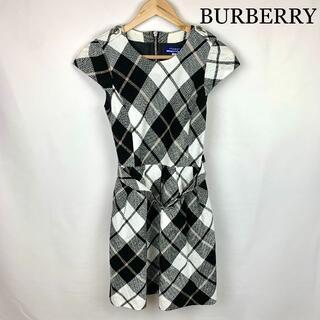 BURBERRY - Burberry バーバリー  定番チェック ワンピース
