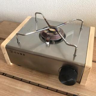 【使用1回】KOVEA CUBE コベアキューブ カセットコンロ 本体+木製側板