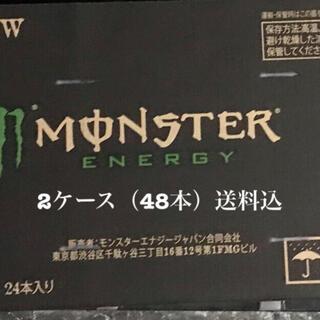 エナジー(ENERGIE)の送料込 モンスターエナジー 355ml缶×48本 (2ケース) 新品未開封品(ソフトドリンク)