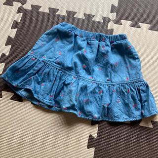 ナルミヤ インターナショナル(NARUMIYA INTERNATIONAL)のKiss Drop チェリー柄スカパン(スカート)