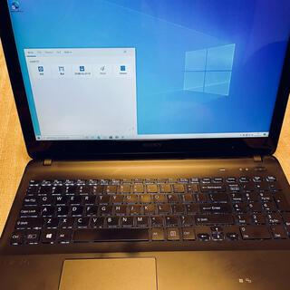 バイオ(VAIO)の✨格安VAIO Win10 8GB SSD SONY VAIO Fit 15E(ノートPC)