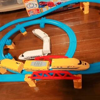 プラレール坂レールセットドクターイエローN700系