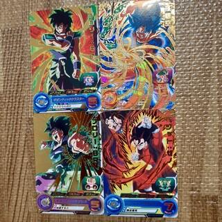 ドラゴンボール(ドラゴンボール)のカード スーパードラゴンボールヒーローズ ブロリー 孫悟空 ベジット(カード)