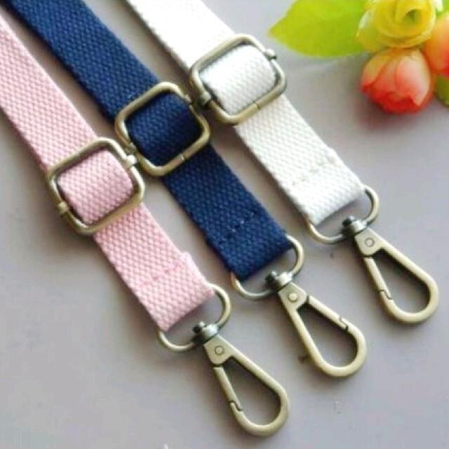 カバン バッグ ガマ口 ショルダーストラップ ベルト 紐 斜めがけ 単品 12 ハンドメイドの素材/材料(各種パーツ)の商品写真