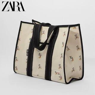 ZARA - 新品 人気商品 ZARA ディズニー ミッキーマウス トートバッグ