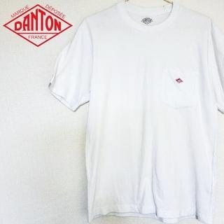 ダントン(DANTON)のDANTON ダントン ワンポイント ロゴ刺繍 半袖 ポケット Tシャツ(Tシャツ/カットソー(半袖/袖なし))