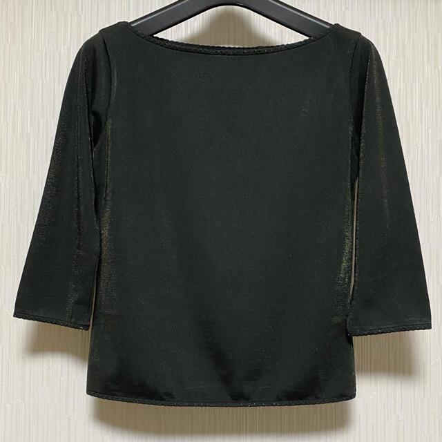 ANAYI(アナイ)のANAYI  ラメ入りカットソー 七分袖 レディースのトップス(カットソー(長袖/七分))の商品写真