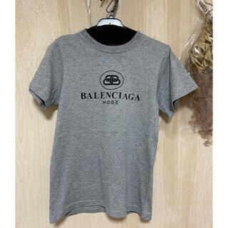Balenciaga - バレンシアガ正規品プリントロゴ半袖Tシャツ美品 BALENCIAGA