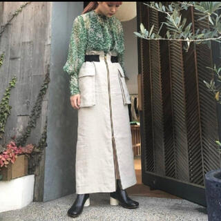 mame - EBONY エボニー スカート