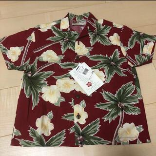 新品未使用☆made in Hawaiiコットンアロハシャツ