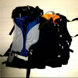 オスプレイ(Osprey)の【2個セット】OSPREY 登山バックパック(登山用品)