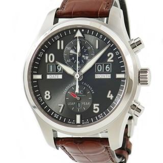 インターナショナルウォッチカンパニー(IWC)のIWC  スピットファイア パーペチュアルカレンダー クロノ IW379(腕時計(アナログ))
