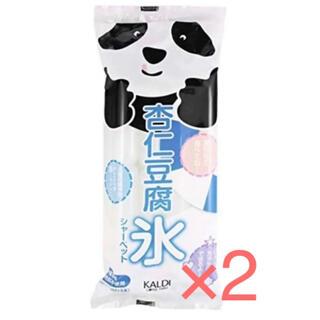 カルディ(KALDI)のカルディ オリジナル パンダ 杏仁豆腐氷(菓子/デザート)