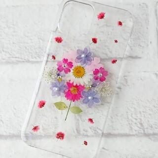 押し花iPhoneケース★iPhone12/iPhone12pro(iPhoneケース)