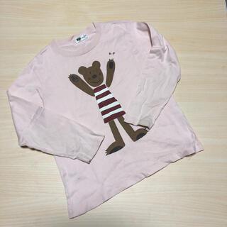 ニットプランナー(KP)のKP♡くまさん長袖Tシャツ120(Tシャツ/カットソー)