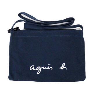 agnes b. - アニエスベー サコッシュ ネイビー