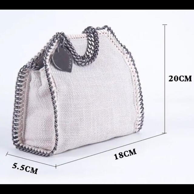 SeaRoomlynn(シールームリン)の新品♡インポート リネンショルダーバッグ ロエベ ボッテガ グッチ セリーヌ レディースのバッグ(ショルダーバッグ)の商品写真