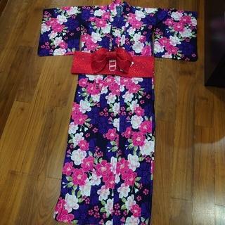 シマムラ(しまむら)のしまむら 浴衣 作り帯 セット レディース(浴衣)