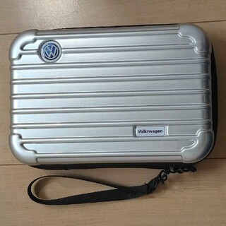 Volkswagen ノベルティ ポーチ【シルバー】