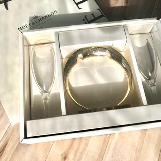 モエエシャンドン(MOËT & CHANDON)の【新品未使用非売品】紙袋無し モエシャンドン モエシャン ペアグラス(グラス/カップ)