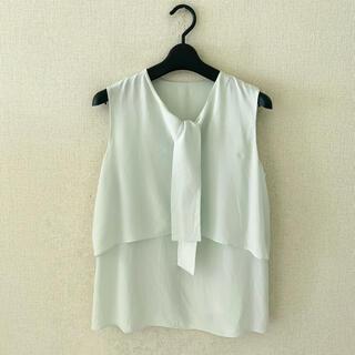 トゥモローランド(TOMORROWLAND)のトゥモローランド♡シルク100%シャツ(シャツ/ブラウス(半袖/袖なし))