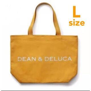ディーンアンドデルーカ(DEAN & DELUCA)のDEAN&DELUCA ディーンデルーカ トートバッグ キャラメルイエロー L(トートバッグ)