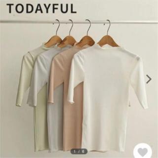 TODAYFUL - トゥデイフル Drytouch Halfsleeve Tops