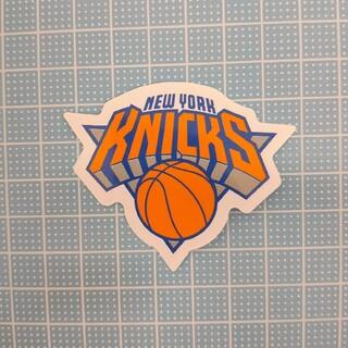 #12 ステッカー NBA ニューヨーク・ニックス オレンジ 青 白 バスケ(印刷物)