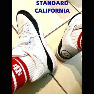 スタンダードカリフォルニア(STANDARD CALIFORNIA)のSTANDARD CALIFORNIA SD SPORTS SOCKS-2P(ソックス)