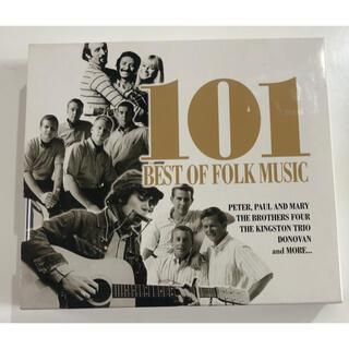 101BEST OF FOLK MUSIC   CD 4枚組